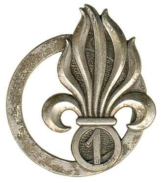 1st Foreign Cavalry Regiment - Image: Insigne de béret du 1er REC