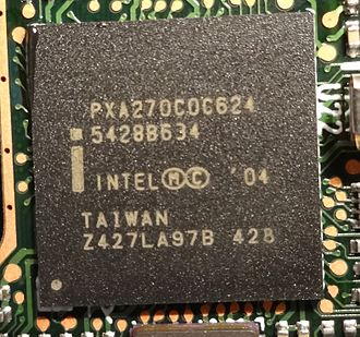 XScale - Intel PXA270 with 624 MHz