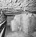 Interieur, restanten oostgevel kasteel met funderingen in kelder - Gouda - 20358948 - RCE.jpg