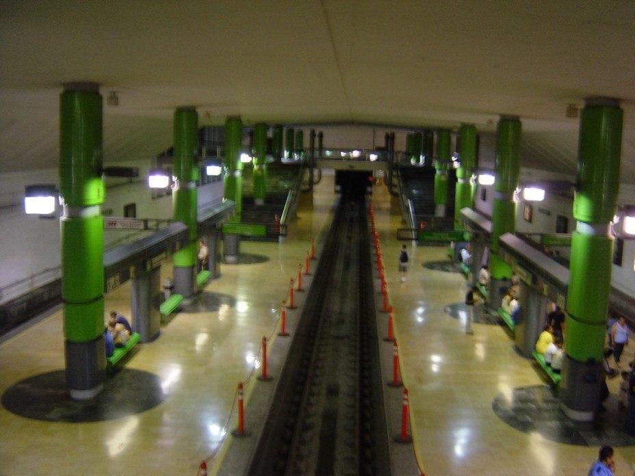 Interior de Estaci%C3%B3n Cuauht%C3%A9moc Monterrey