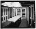 Interior view of officer's lounge in stern looking aft. - Lightship No. 83, South Lake Union Pier, Seattle, King County, WA HAER WA-175-21.tif