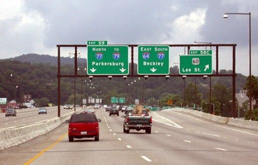 Interstate 64 Charleston