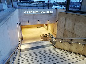 Image illustrative de l'article Gare des Invalides