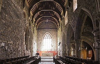 Iona Abbey - The medieval church
