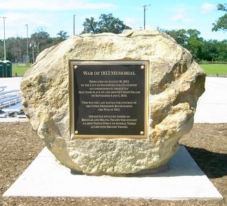 Credit Island - Image: Iowa Davenport (War of 1812 Memorial, Credit Island), Scott County September 1, 2014