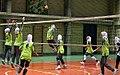Iran women's national volleyball team camp - 7 September 2011 05.jpg
