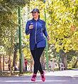 Iranian fashion designer and model ahangi sara in fateh garden of karaj (5).jpg