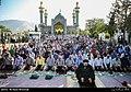 Iranians holding Eid al-Fitr prayer in Lavizan Imamzadeh shrine, Tehran, Iran.jpg