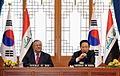 Iraqi President Jalal Talabani visits Korea in February 2009 - 4341653463.jpg