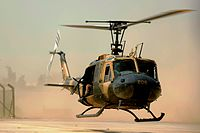 Iraqi air force UH-1H II Huey helicopter.JPG