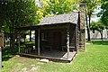 Irving Heritage Park June 2019 01 (Caster Cabin replica).jpg