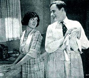Is Matrimony a Failure? - Film still with Lila Lee and T. Roy Barnes
