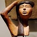 Isis pleurant Osiris - 1550-1295 avant JC - Musée du Louvres (4387474906).jpg