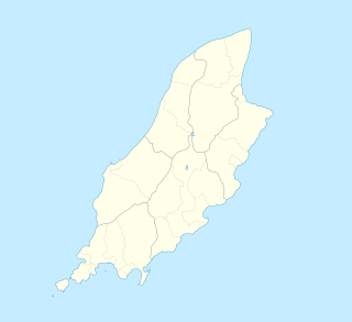 Moddey Dhoo is located in Isle of Man