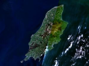 Geography of the Isle of Man - Satellite image