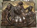 Italia del nord, cristo morto pianto dalle tre virtù teologali, 1450-1500 ca..JPG