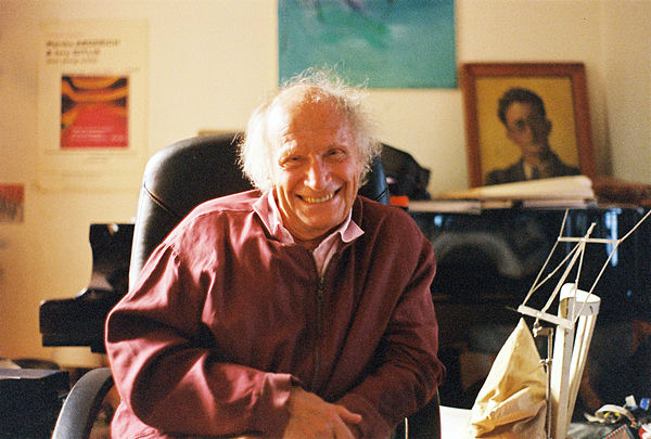 Photo Ivry Gitlis via Wikidata