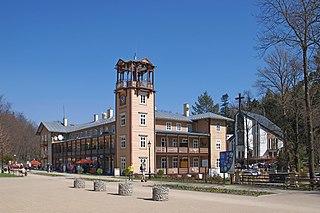 Iwonicz-Zdrój Place in Subcarpathian Voivodeship, Poland