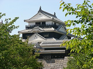 Japanese historical estate in Iyo province