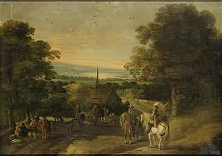 Landscape with a Cavalry Group