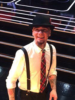 J-Ax at The Voice of Italy 2015.jpg