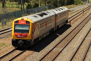 New South Wales Hunter railcar