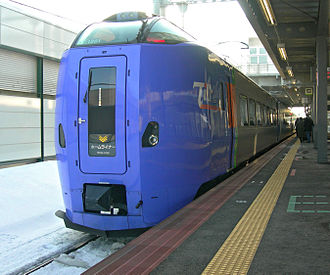 Home Liner - KiHa 261 series DMU on Home Liner service
