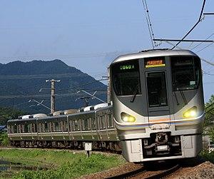 Fukuchiyama Line - 225-6000 series EMU on a Tanbaji Rapid service