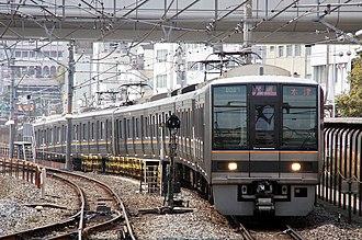 JR Tōzai Line - 207 series EMU