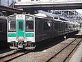 JR East 701 Series Train at Koriyama Station.JPG