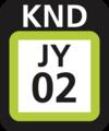 JR JY-02 station number.png