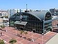 Jack London Square station building, July 2020.JPG