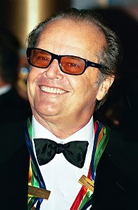 Jack Nicholson 20th and 21st-century American actor, film director, producer, and writer