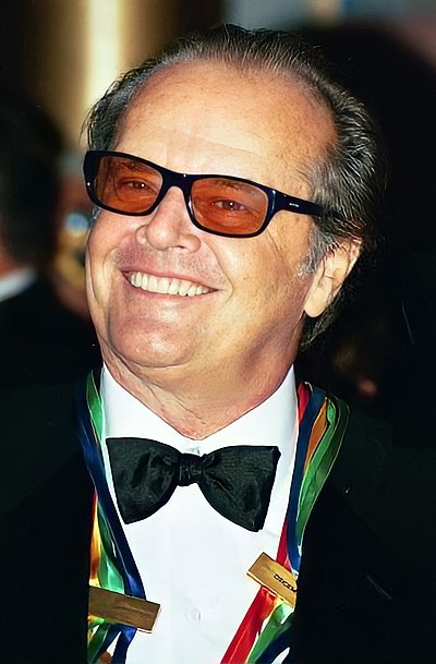 Jack Nicholson, American actor and filmmaker