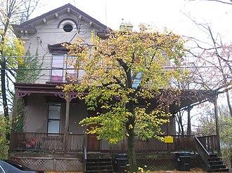 Jacob Dolson Cox - Cox's home in Cincinnati