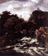Jacob Isaacksz. van Ruisdael - Norwegian Landscape with Waterfall - WGA20474.jpg