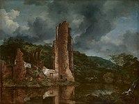 Jacob van Ruisdael - Landscape with the Ruins of the Castle of Egmond.jpg