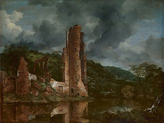 The Jewish Cemetery - Image: Jacob van Ruisdael Landscape with the Ruins of the Castle of Egmond