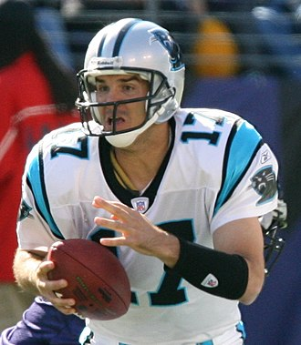 Jake Delhomme - Delhomme with the Panthers in 2006
