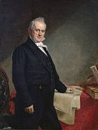 James Buchanan, fifteenth President of the United States