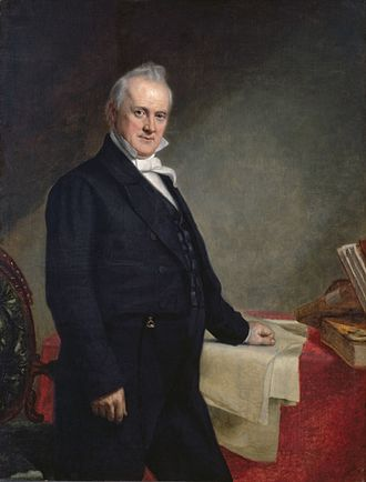 1856 United States presidential election in Connecticut - Image: James Buchanan, by George Peter Alexander Healy