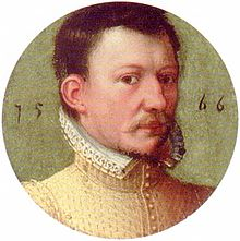 Small contemporaneous portrait of James Hepburn, 4th Earl of Bothwell, husband of Mary, Queen of Scots from 15 May 1567 to his death in 14 April 1578.
