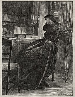 James McNeill Whistler - The Trial Sermon- Joanna Douglas at Her Desk - 1941.135 - Cleveland Museum of Art