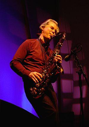 Jan Garbarek - Garbarek live in 2007.