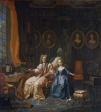 Francis Hutchinson - Jan Carel Vierpeyl - Portrait of a Man and his Daughter