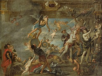 Jan van den Hoecke - The triumph of time