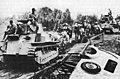 Japanese light tanks moving toward Manila.jpg