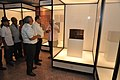 Jayanta Sengupta Visits With Shrikant Pathak And Manash Bagchi - Objects In CRTL Archive Exhibition - NCSM - Kolkata 2018-05-18 0692.JPG