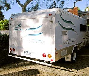 English: Jayco Expanda model travel trailer