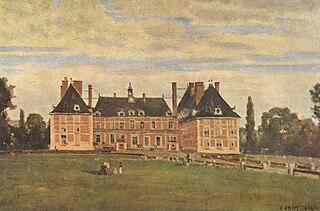 Rosny (Yvelines). Le château de la duchesse de Berry